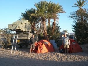 Kamperen, Marokko Erg Chegaga Expeditie