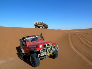 Duinen, 4x4 Marokko Erg Chegaga Expeditie