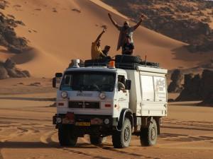 MAN 8.136; één van onze expeditie voertuigen