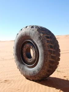 Pech onderweg, Libië